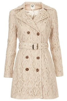 LACE TRENCH COAT BY COCO'S FORTUNE
