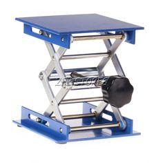 4X4 Aluminum Lab-Lift Lifting Platforms Stand Rack Scissor Jack Lab-Lifting New