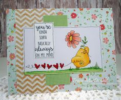 I Wanna Build a Memory: Chicks galore - Stamping Bella image