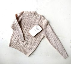 Vintage Shetland Sweater / Campus Quad / 80s by SmallEarthVintage by VintageandMain