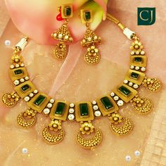 Turn heads this wedding season with CJ exclusive jewellery sets. Gold Wedding Jewelry, Gold Jewelry Simple, Silver Jewelry, Jewelry Clasps, Silver Earrings, Boutiques, Fancy Jewellery, Handmade Jewellery, Light Weight Gold Jewellery