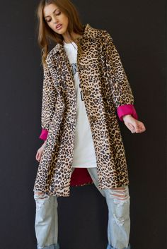 Fab Leopard Jacket from Handpicked Los Angeles! The best vintage in LA!