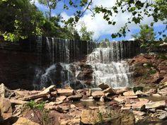 Cowley Lake Waterfall, Arkansas City