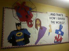 Jesus saved the world. Kids have the perfect super hero in Jesus. My friend Cheryl drew this.