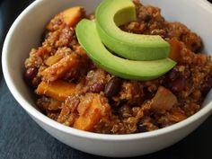Sweet Potato & Quinoa Chili
