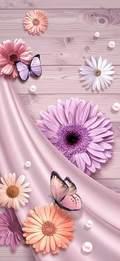 Pink Wallpaper Backgrounds, Wallpaper Nature Flowers, Flowery Wallpaper, Abstract Iphone Wallpaper, Spring Wallpaper, Pretty Backgrounds, Flower Phone Wallpaper, Beautiful Nature Wallpaper, Butterfly Wallpaper