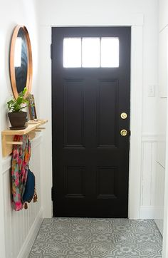 See how to use IKEA BESTA cabinets to give a neglected corner a bright, organized entryway makeover with tons of storage. @ikeausa
