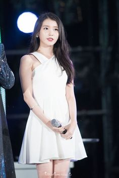 150813 IU at Infinity Challenge Music Festival Iu Fashion, Korean Fashion, Fashion Looks, Womens Fashion, Girl Celebrities, Korean Celebrities, Celebs, Korean Actresses, My Girl