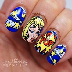 Instagram media by majikbeenz #nail #nails #nailart