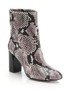 d2e8a741e623 Tory Burch Women s Devon Snake-Embossed Leather Booties. Michele Toomer ·  always buy the shoes