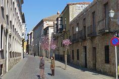 Calles del casco histórico de Zamora