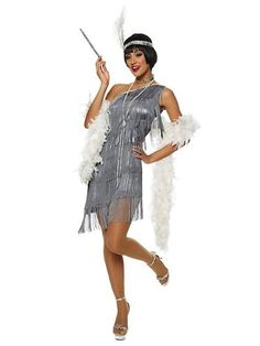 Costumes From Great Gatsby | Womens Dazzling Flapper Sexy Costume
