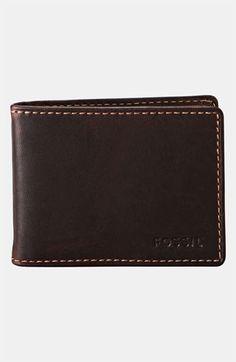 designer money clip wallet p4qc  Fossil 'Gusset' Money Clip Wallet  Nordstrom