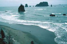 Washington State Tourism | hiking Washington wilderness coast, Washington State Pacific beaches ...