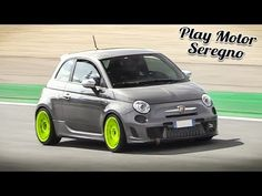 Abarth 595 Competizione at Monza Circuit! Automobile Companies, Fiat Abarth, Engine Block, Bys, Gopro Hero, Fiat 500, Circuit, Jeep, Youtube