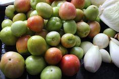 Kobieta po czterdziestce: Sałatka z zielonych pomidorów.