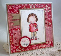 MFTWSC101 - Hugs by T. Joy - Cards and Paper Crafts at Splitcoaststampers
