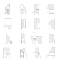 xs architecture vs xl furniture by worapang manupipatpong