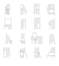 xs architecture vs xl furniture by worapang manupipatpong