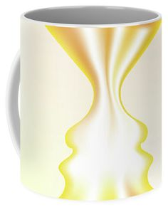 Faces Coffee Mug featuring the digital art Creatio by Ron Labryzz