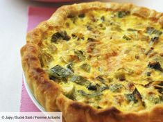 Leek tuna quiche: discover the cooking recipes of Femme Actuelle Le MAG Tart Recipes, Egg Recipes, Cooking Recipes, Quiche Recipes, Healthy Food Alternatives, Healthy Recipes, Tuna Quiche, Always Hungry, English Food