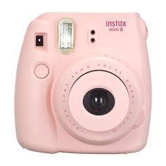 Fuji Instax Mini 8 camera - roze  Herleef de tijden van de Polaroid camera's met deze Fuji Instax Mini camera. Maak een foto en zie meteen het resultaat.  EUR 67.99  Meer informatie