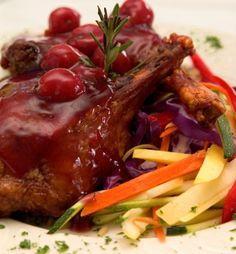 Cherry chicken | Wedding catering by Alexander's in Fish Creek, Door County