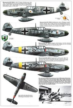 Bf 109 G, G12 and K variants (5)