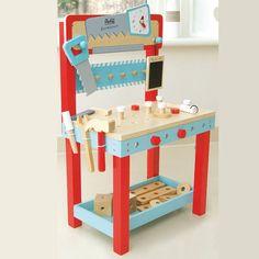le toy van werkbank le toy van pinterest toys wooden toys und tool bench. Black Bedroom Furniture Sets. Home Design Ideas