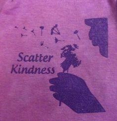 Custom infant/toddler or child size Scatter Kindness t-shirt on Etsy, $12.00