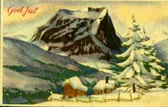 Julekort Jørgen Thorsrud utg Børrehaug og Remen Norway, Christmas Postcards, Painting, Art, Art Background, Painting Art, Kunst, Paintings, Performing Arts