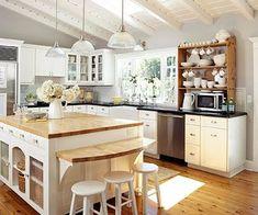 Image result for kitchen vaulted ceiling