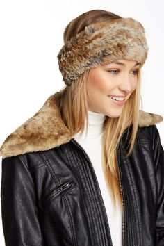 Genuine Rabbit Fur Headband