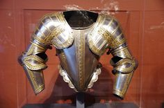 Portions of an armour for field and tilt, Greenwich, England
