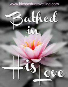 What does it mean to be bathed in God's love? I found out when Jesus used a life…