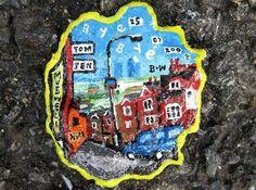 Chewing Gum Street Artwork By Ben Wilson