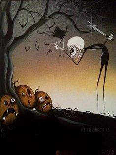 Jack Frost, Halloween, Pumpkins