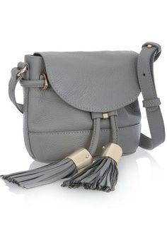 See by Chloé Vicki mini textured-leather shoulder bag Shoulder Strap Bag, Crossbody Shoulder Bag, Shoulder Handbags, Leather Shoulder Bag, Crossbody Bag, Tote Bag, Backpack Purse, Jennifer Fisher, Chan Luu