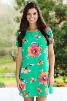 For Your Love Dress-Kelly Green - New Arrivals | The Red Dress Boutique