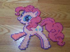 Pinkie Pie My little Pony perler beads   by simplyputmyself on deviantart