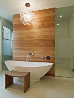 Love the wood wall look...