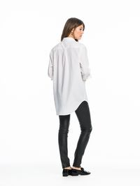 Cotton Boyfriend Shirt | Shirts ls | Ladies Clothing at Scotch & Soda