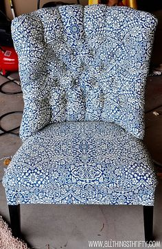 Tufted Re-upholstery