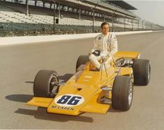Pole position at Indianapolis, 1971. Peter Revson