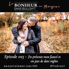 Cette semaine j'ai eu envie de te présenter mon fiancé  @sensei_antoine_giasson et ensemble, on jase de l'importance de planifier des date nights (ou date days) pour garder ton couple en santé. . . #datenight #dateday #respect #amourpropre #relationsamoureuses #amour #relationshipgoals #couples #couplegoals #bridetobe #soontobemarried #respectdelautre #respectdesoi #communication #complicite  #Podcast #podcaster #podcastersofinstagram #LeBonheurSansBullshit #lifestyleblogger Couple Goals, Bullshit, Date, Couples, Respect, Communication, Couple Photos, Night, Bonheur