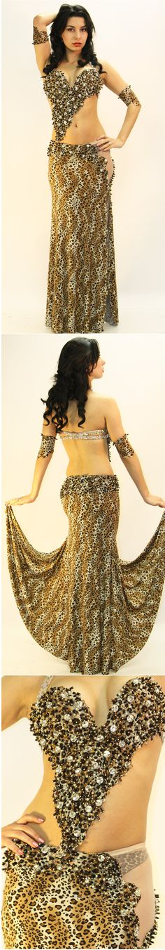 Sahar Okasha  Two-Piece Costume (19437)