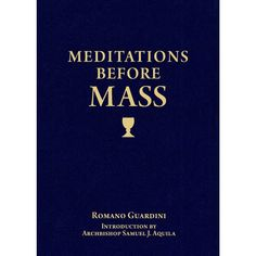 Over fifty years ago, Msgr. Romano Guardini resolved to help his parishioners overcome the distractions and restlessness they suffered at Mass. Just before Mass each Sunday, he gave a brief talk on some aspect of the Mass, teaching them week by week, topic by topic, how to prepare themselves to participate more prayerfully. So helpful were these 32 talks that they were soon published and have helped generations of Catholics to deepen their devotion during Mass.