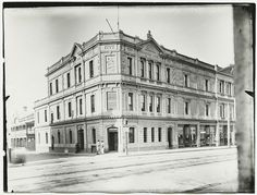 Tavistock Hotel on Rundle Street,Adelaide in South Australia in State Library of South Australia. Adelaide Sa, City Of Adelaide, Adelaide South Australia, Western Australia, Tavistock, Old Pub, Local History, Tasmania, Vintage Photography