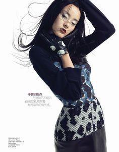 Emma Pei – Vogue China December 2012