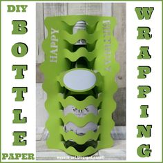 Wesens-Art: Bottle Wrapping